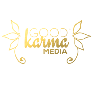 Good Karma Media Logo with Wings